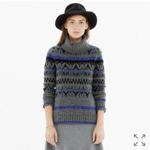 Madewell | Fair Isle Turtleneck Sweater